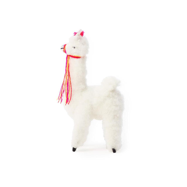 White Alpaca - Decorative Accessory Gifts Peru