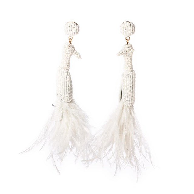 Yoruba - Beaded Earrings