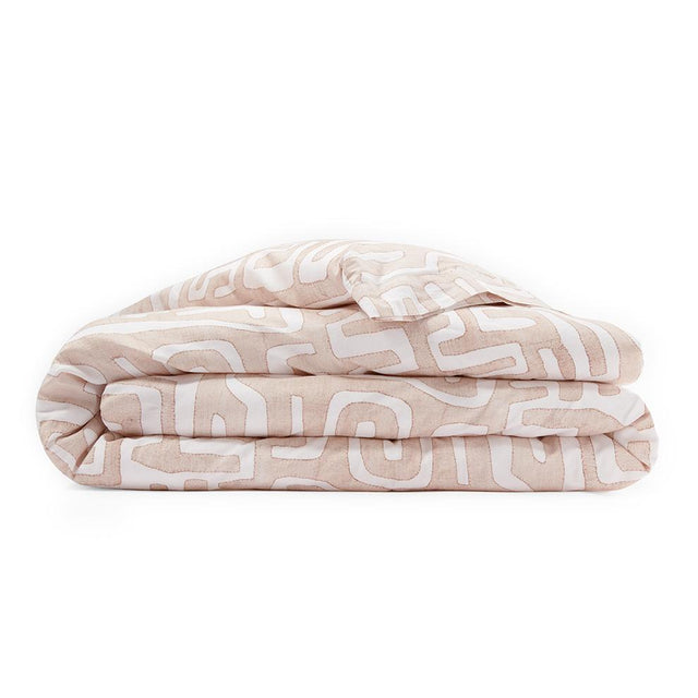 Blush Classic Kuba Cloth - Duvet Default Portugal