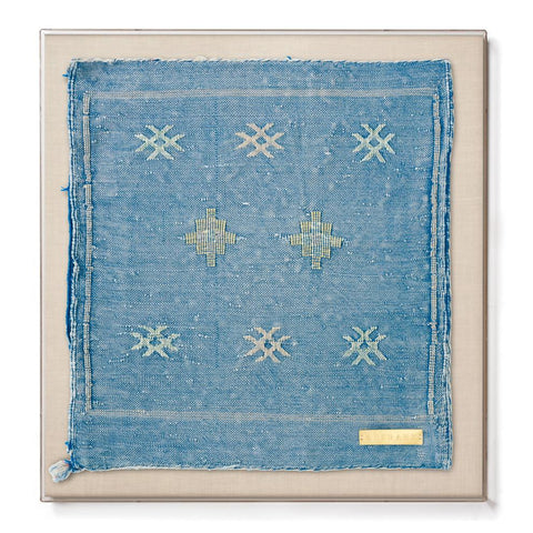 Cactus Silk LIV - Accent Framed Textile