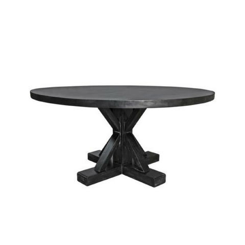 Noir Round Dining Table