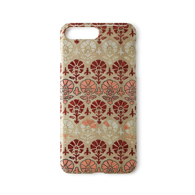 Silk Blush Suzani - iPhone 8 Plus Case Travel Accessories St. Frank