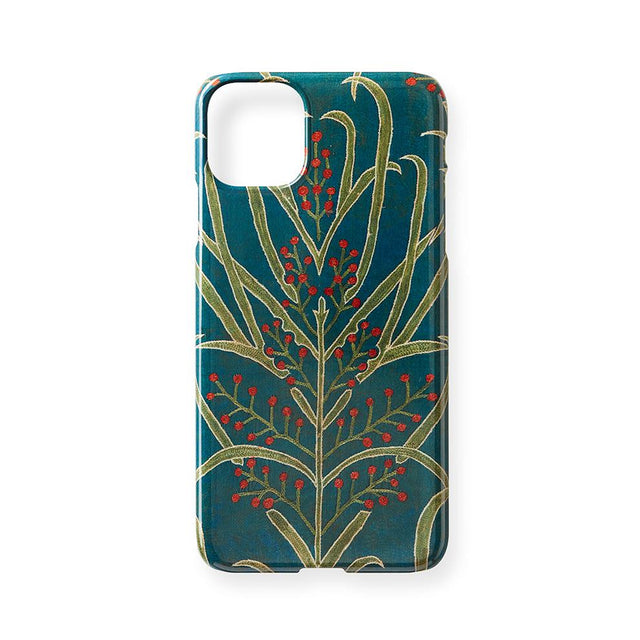 Teal Vines Suzani - iPhone 11 Pro Max Case Travel Accessories St. Frank