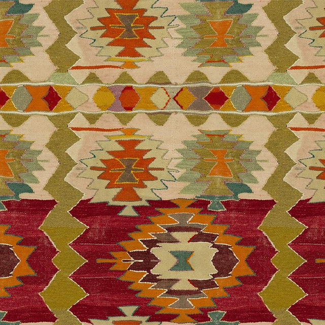 Kaleidoscope Kilim - Wallpaper Yardage St. Frank