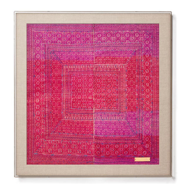 Miao VIII - Accent Framed Textile