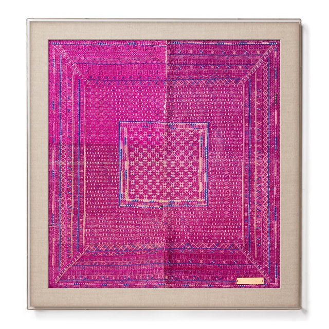 Miao VI - Accent Framed Textile Textile China