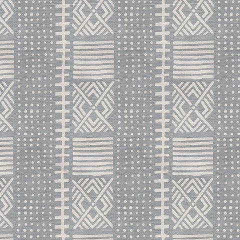 Dove Dots Mud Cloth - Fabric