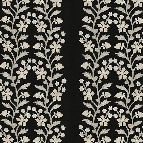 Black Tree of Life Suzani - Fabric