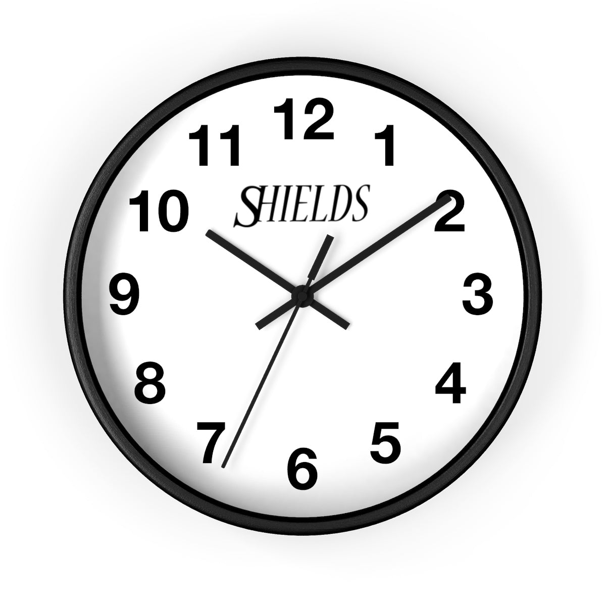 Shields Wall Clock Home Decor