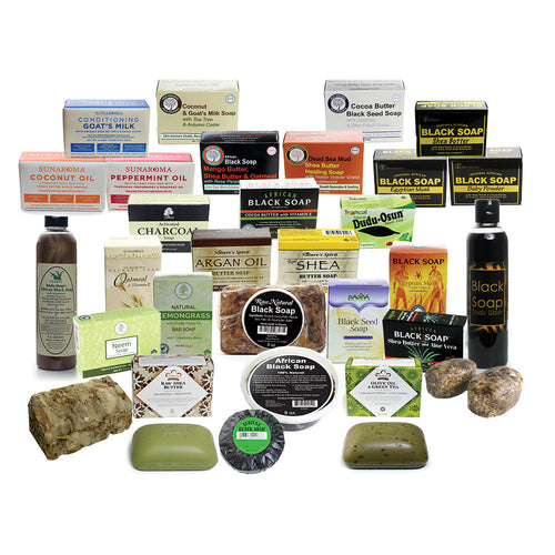 Set Of 30 Natural Soaps