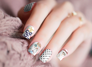 Cool Girl Nail Stickers