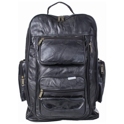 Embassy™ Italian Stone™ Design Genuine Leather Trolley/Backpack