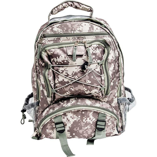 Extreme Pak™ Digital Camo Water-Resistant Backpack