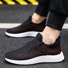 Load image into Gallery viewer, Lace Up Shoes Men Breathable Lightwight Sneakers
