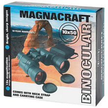 Load image into Gallery viewer, Magnacraft® 10x50 Binoculars with Ruby Red Coated Lenses for Glare Reduction