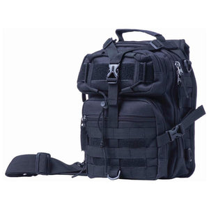 "Extreme Pak 11"" Black Sling Backpack"