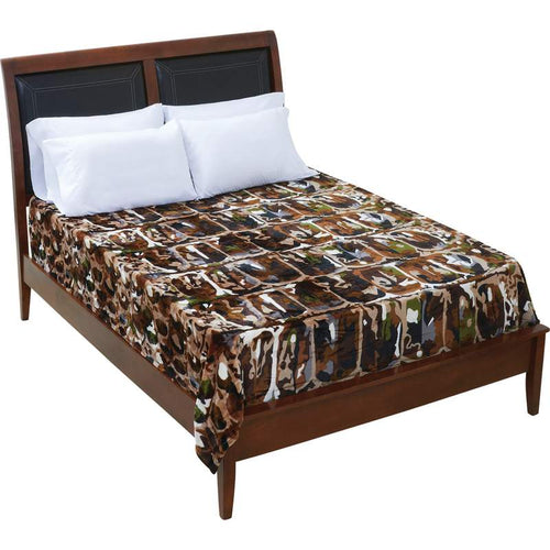 Bullgator® Camo Fleece Blanket
