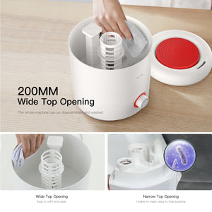 Ultrasonic Humidifier & Essential Oil Diffuser