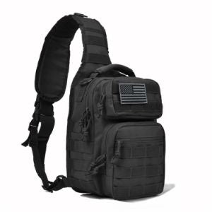 Tactical Sling Bag Pack Military Rover Shoulder Sling Backpack Molle Range Bag EDC Small Day Pack with Padding Pocket DYT-001