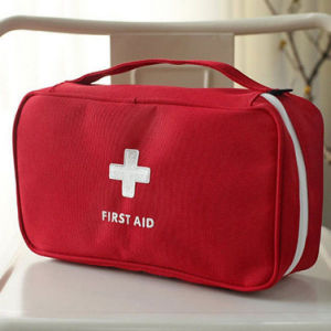First Aid Bag Emergency Home Outdoor Treatment Rescue Pouch