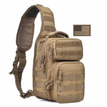 Load image into Gallery viewer, Tactical Sling Bag Pack Military Rover Shoulder Sling Backpack Molle Range Bag EDC Small Day Pack with Padding Pocket DYT-001