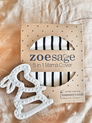 5 in 1 Nursing Cover by Zoe Sage