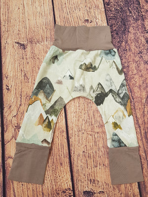 Grow with me pants- Mystic Mountains