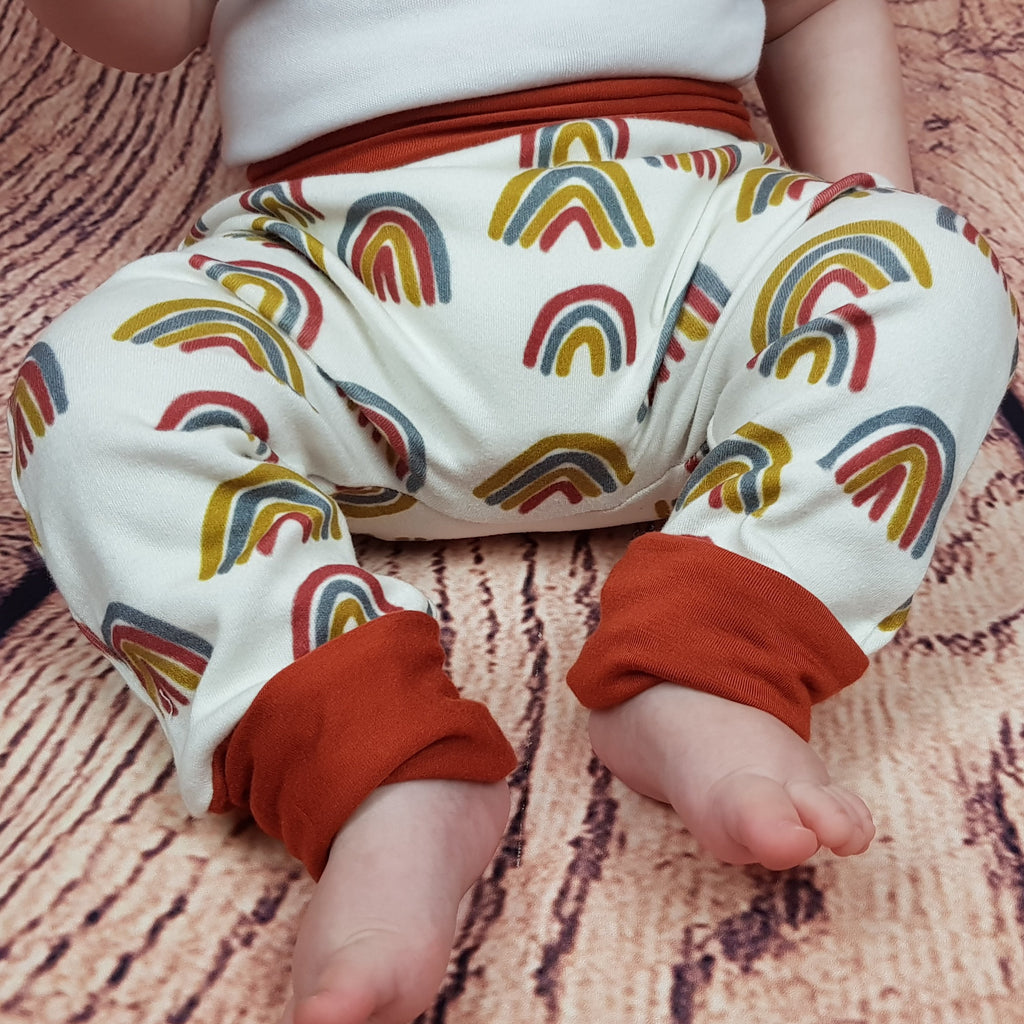 Grow with me pants- Rad Rainbow