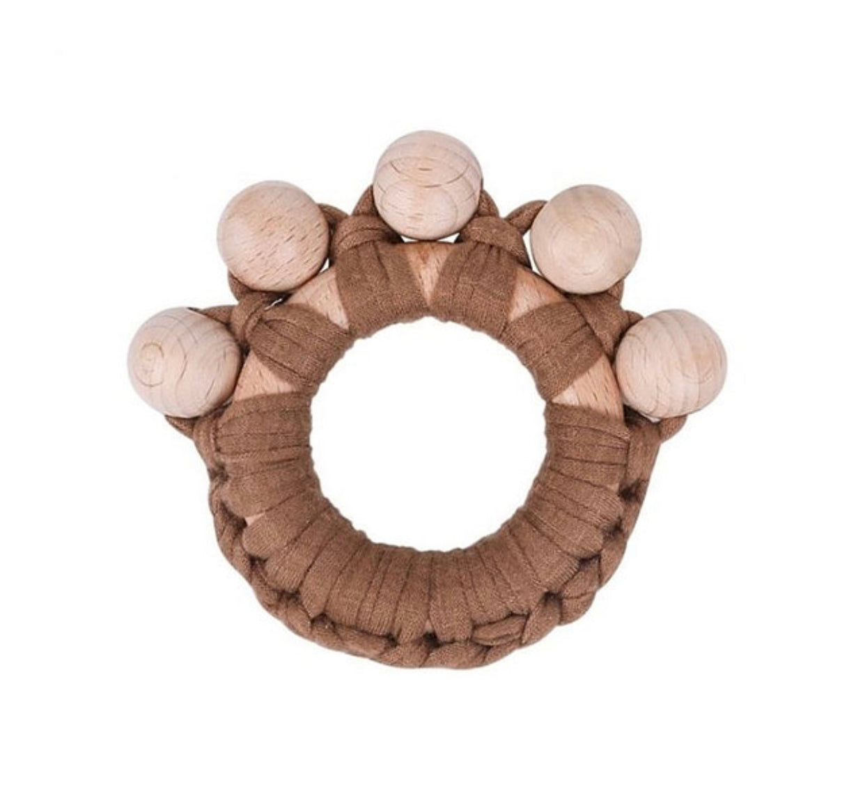 Wooden Bear Paw Teether