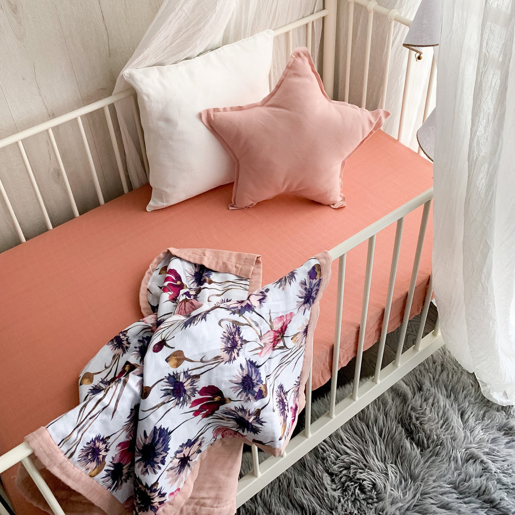 Popyatot All About Aster Reversible Cot Quilt