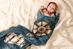 Pop Ya Tot The Treasure Map Swaddle