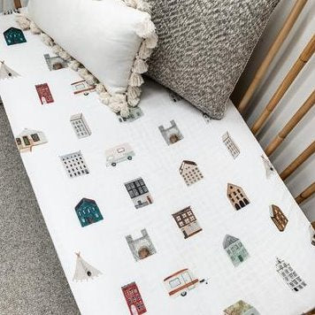 Ole House Pop Ya Tot Muslin Cot Sheet