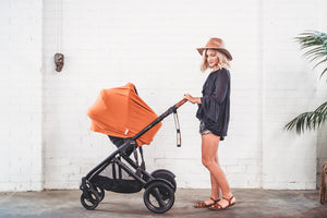 5 in 1 Nursing Cover by Zoe Sage-Organic Savannah Rust