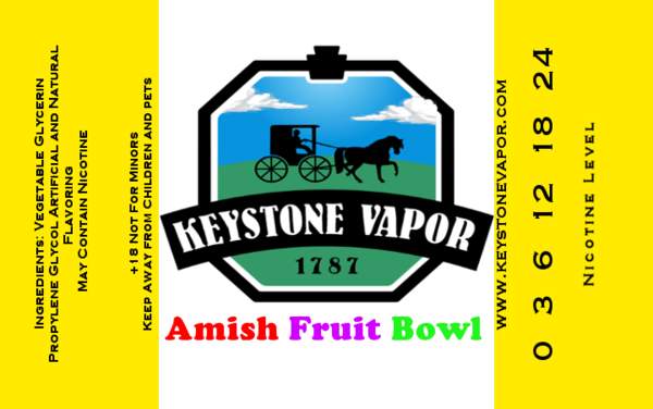 Amish Fruit Bowl