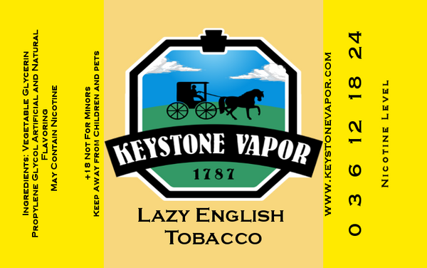 Lazy English Tobacco