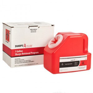 SHARPS DISPOSAL BY MAIL SYSTEM 1 GALLON