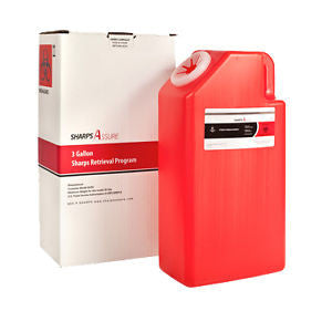 SHARPS DISPOSAL BY MAIL SYSTEM 3 GALLON