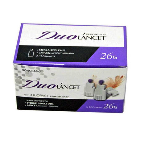 DBC LANCET #26 FOR DUOPACT 2 IN 1 BX100