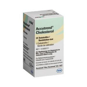 ACCUTREND PLUS CHOLESTEROL TEST STRIPS