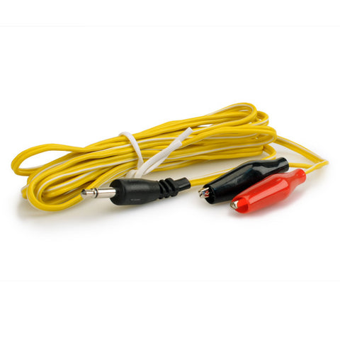 "ALLIGATOR CLIP WIRES 72"" LONG WITH 3.5MM JACK"