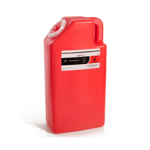 LOCK UP SHARPS CONTAINERS - 3 GALLON