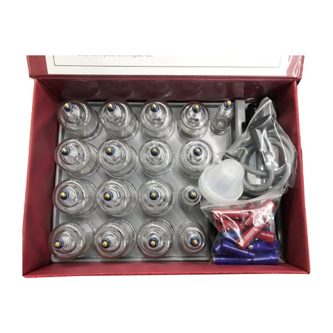 PREMIUM 17 PIECES CUPPING SET