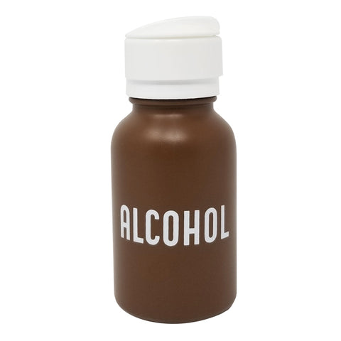 ALCOHOL DISPENSER BROWN