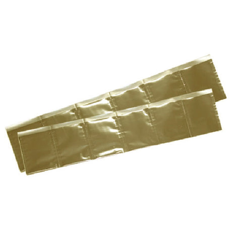 ALUMINIUM DRUG PACKING PAPER PKG100 GOLD
