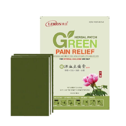 GREEN HERBAL PATCH PKG10