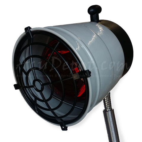 NEW IR-5000 HEAT LAMP - PLASTIC GRILL