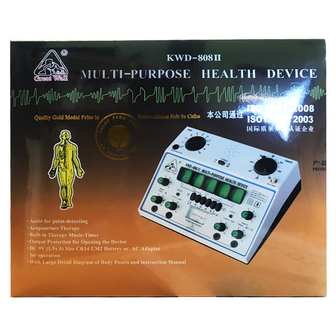 KWD-808 II MULTI-PURPOSE HEALTH DEVICE WITH 4 CHANNEL
