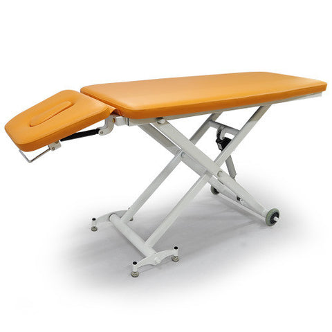 M2-2 ELECTRIC TABLE WITH HEAD TILTING - ORANGE COLOR