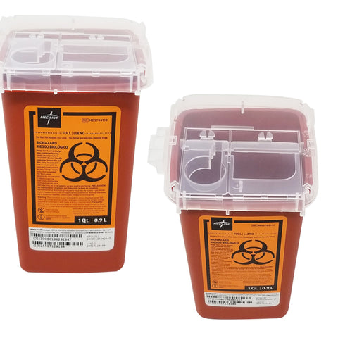 LOCK UP SHARPS CONTAINERS - 1 QUART