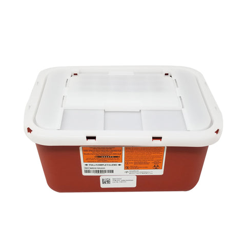 LOCK UP SHARPS CONTAINERS - 1 GALLON